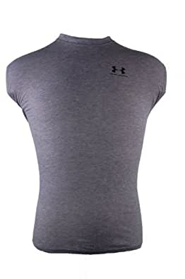 Under Armour Sleeveless T-Shirt Style: 0073-PGRY Size: S