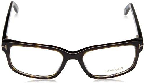 Tom Ford Montures de lunettes FT5313 Pour Homme Matte Black 052: Dark Tortoise