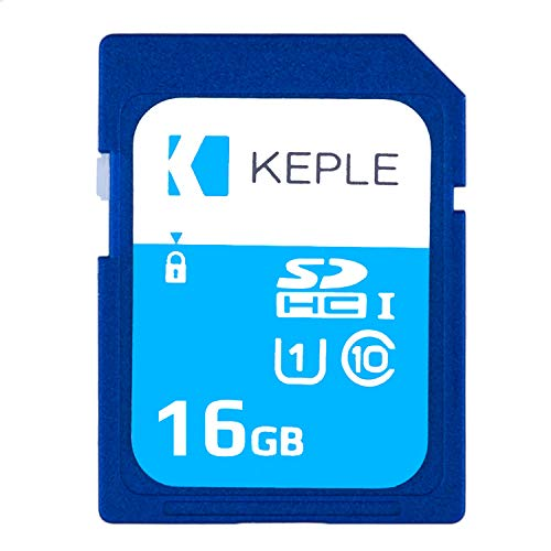 16GB SD Memory Card by Keple | SD Card for Canon IXUS Series 200, 285, 132 HS, 140, 175, 160, 165, 170, 180, 225 HS, 265 HS, 275 HS PS GS, XC10, N100 DSLR Digital Camera | 16 GB ()