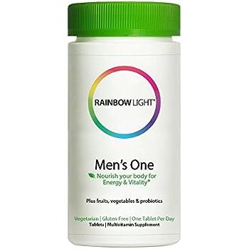 Amazon.com: Rainbow Light sólo una vez Mens One Energy ...