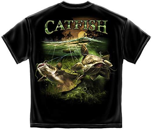 Spinner baits for bass Fishing | Catfish Merky Water T Shirt BTB2375XL