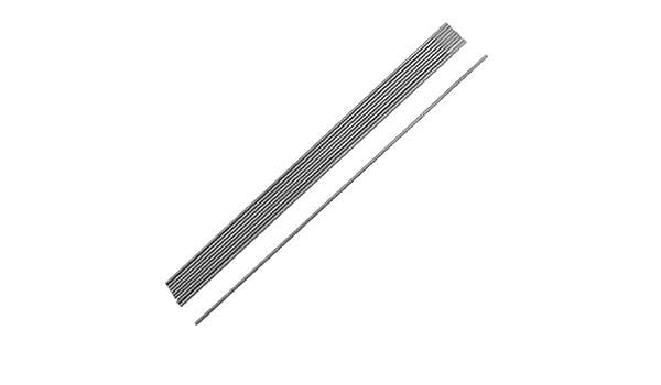 10 piezas de argón soldadura por arco de tungsteno de cerio electrodos de 1, 6 mm x 150 mm Gris - - Amazon.com