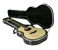 The SKB-3 is part of the Economy line of cases with an EPS plush lined interior that provide an exceptional value for the price. The SKB-3 is designed to hold a variety of thin-body acoustic-electric guitars as well as a variety of classical ...