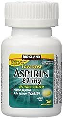 Kirkland Signature Low Dose Aspirin, 1 B...