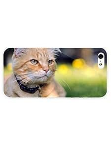 3d Full Wrap Case for iPhone 6 plus 5.5 Animal Bored Cat