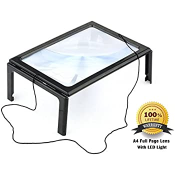 Amazon Com Tabletop Magnifying Glass Full Sized