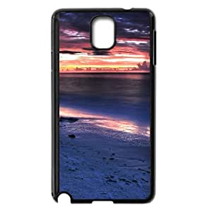 Good Quality Phone Case With HD Seascape Images On The Back , Perfectly Fit To Samsung Galaxy Note 3