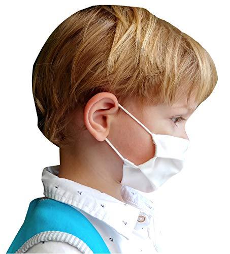 411sQKsm0eL ✅ Mascarilla higiénica reutilizable de alta protección homologada UNE 0065:2020 (Norma Ministerio Sanidad España) mediante ensayo EN14683:2019 ⭐ Tela 100% algodón tratado con tecnología Cottonblock (propiedades hidrófugas y de bloqueo): repele las microgotas de saliva dentro y fuera; facilita la respiración. ⭐ Test de laboratorio de protección BFE 98,2% ⭐ Protección bidireccional, proteje al que la lleva y a los demás (no excluye de cumplir las normas de distanciamiento social). ✅ Cuida la piel de tu cara con nuestra tela 100% algodón sin elementos tóxicos ni fibras artificiales que provoquen rojeces, alergias, eccemas o irritaciones, incluso llevándola todo el día. ⭐ 100% libre de fluorcarbono, ftalatos y teflones. ⭐ Certificado OekoTex 100 Class 1 (sin sustancias nocivas). ⭐ Alta transpiración, ideal para el verano, ejercicio ligero y/o personas que hablan a menudo con mascarilla. ⭐ Sin elementos rígidos para no dejar marcas en nariz o cara y tener máxima comodidad. ✅ Fabricada en España (tejido y confección) y testada en el laboratorio español Eurecat (ensayo 2020-017772) ⭐ Sin tener que añadir filtros desechables, sólo hay que lavarla para reutilizarla. ⭐ Muy ligera y cómoda, con gomas especiales para que no duelan las orejas y diseñada de forma ergonómica en acordeón para poder hablar con la mascarilla puesta sin que se descoloque. ⭐ Muy cómoda para respirar gracias a una presión diferencial de sólo 15Pa/cm2 (respirabilidad probada en laboratorio).