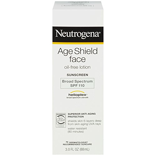 Neutrogena Age Shield Face Oil Free Lotion Sunscreen Broad Spectrum