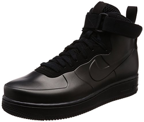 Image of NIKE Men's Air Force 1 Foamposite Cup, Black/Black-Black, 8 M US