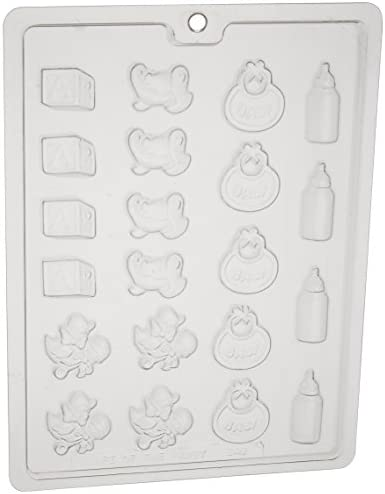 (Chocolate Mold) - Cybrtrayd B049 Baby Deco's Chocolate Cand