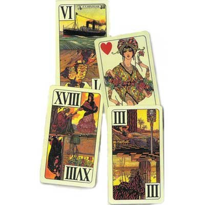 Tarot of Alan by Modiano - 55 Cards - I 55 Tarocchi di Alan