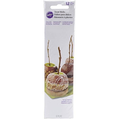 Wilton 2113-0259 Caramel Apple Branch Sticks, -