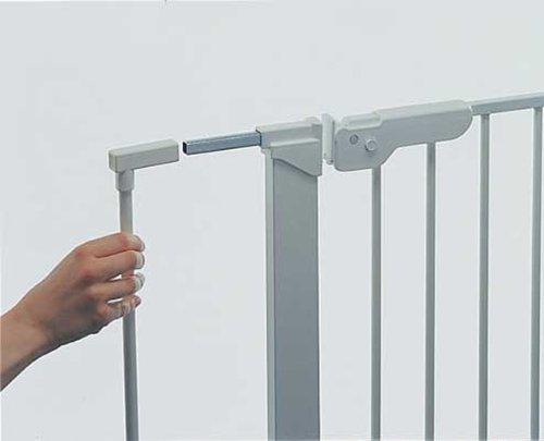 BabyDan Premier Pressure Gate Silver Double Extend a Gate Kit Extension