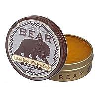 Bear Grease Bear Leather Dressing (3.5 Oz)