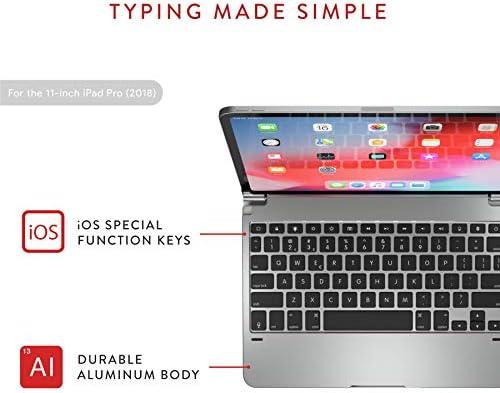Brydge 11 0 Pro Keyboard silver BRY4011: Amazon com: MONSTERME