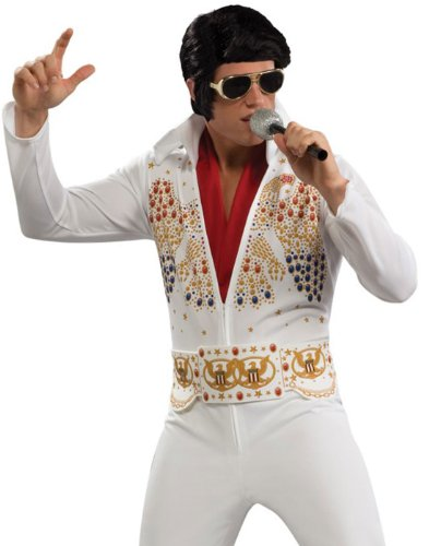 Rubie's Aloha Elvis Adult (White Theme Party Costumes Ideas)