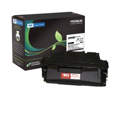 - Premium Laser Printer MICR Toner Cartridge TROY Compatible Magnetic Ink - Replaces HP C4127A 27A TROY 02-18791-001 Compatible with Troy & HP Laserjet 4000 4050 Series