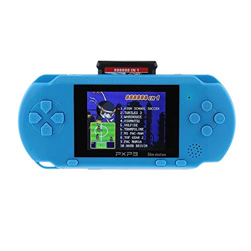 NEW16 Bit Console PXP3 Slim Station PVP Handheld Game Player Video Game Console with 2 Game Card