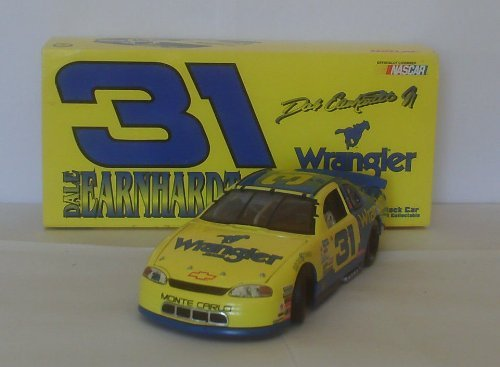 1997 Dale Earnhardt Jr #31 Wrangler Monte Carlo 1/24 Scale Diecast Hood Opens, Trunk Opens HOTO Action Racing Collectables Only 10008 Total Made (Action Racing Collectables Hood)