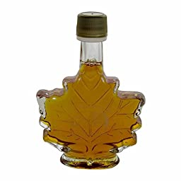 Jed\'s Pure Vermont Maple Syrup Certified Organic - Maple Leaf Grade A - \