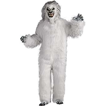Super Deluxe White Yeti Adult Costume