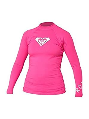 Roxy Juniors' Whole Hearted Long-Sleeve Rashguard