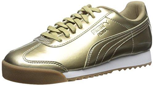 Gold Metallic Kids Pnt Sneaker Puma Roma White Ano HqRHF4