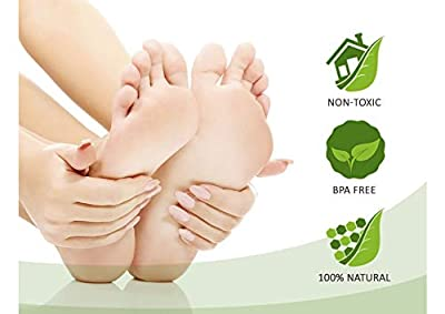 BELAMUR Detox Foot Patches 30 Pack Feet Pads Weight Loss Foot Pain Relief Blood Circulation Booster Detoxifying Slimming Patches Anti-Stress & Sleeping Mask