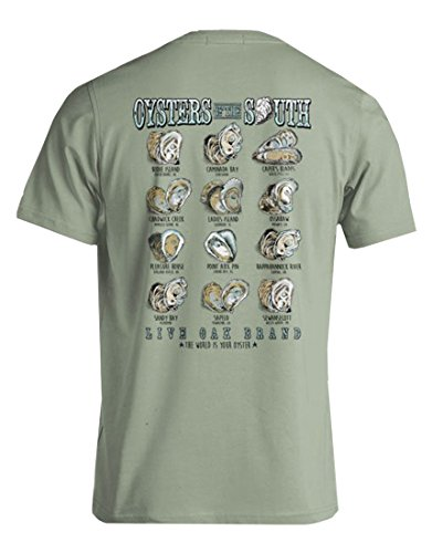 Live Oak Oysters of The South Short Sleeve - Oysters Live