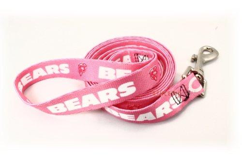 Hunter MFG Chicago Bears Pink Dog Leash, My Pet Supplies