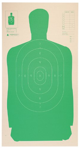 Champion LE B27CB Cardboard 24x45-Inch Green Silhouette Target (Pack of 25)
