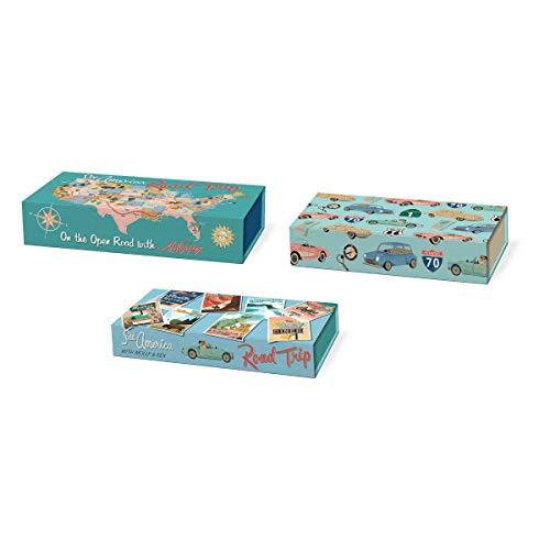 (Molly & Rex Road Trip Nested Set Pencil Box, Multicolor )