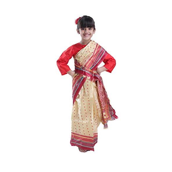 Fancydresswale Assamese Traditional Bihu Dress fro Girls