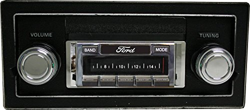 Custom Autosound USA-630 II fits only unmodified OEM dash 1973-1979 Ford Truck, see photos, Includes bonus installation connector pack, 300 watt AM FM Car Stereo/Radio with USB memory aux input Review