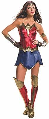 Secret Wishes Women's Batman v Superman: Dawn of Justice Deluxe Wonder Woman Costume