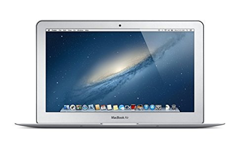 "Apple MacBook Air MD711LL/B 11.6"" Widescreen LED Backlit HD Laptop, Intel Dual-Core i5 up to 2.7GHz, 4GB RAM, 128GB SSD, HD Camera, USB 3.0, 802.11ac, Bluetooth, Mac OS X (Refurbished) 1"