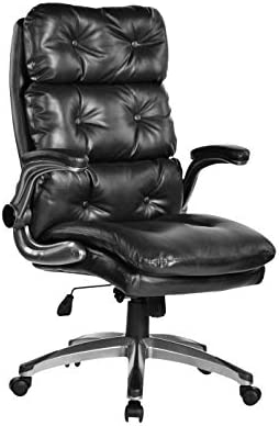 Bosmiller Office Chair High Back Leather Executive Computer Desk Chair