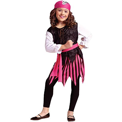 Caribbean Pirate Child Costume 12 14