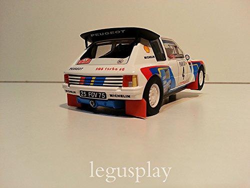 SuperSlot - Coche Slot Monte Carlo Rally Peugeot 205 T16 E2 (Hornby S3590B): Amazon.es: Juguetes y juegos