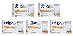 Diaper Dekor Plus Refill, 10 Count