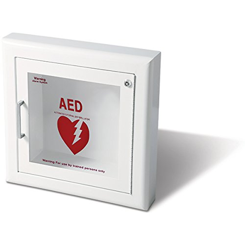 Semi Recessed Wall (Life Start Series AED Semi-Recessed Wall Cabinet w/Siren)