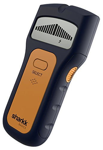 Sharkk Basics Stud Finder LCD Display Multi Scanning Multi Function Smart Stud Finders with Ergonomic Design