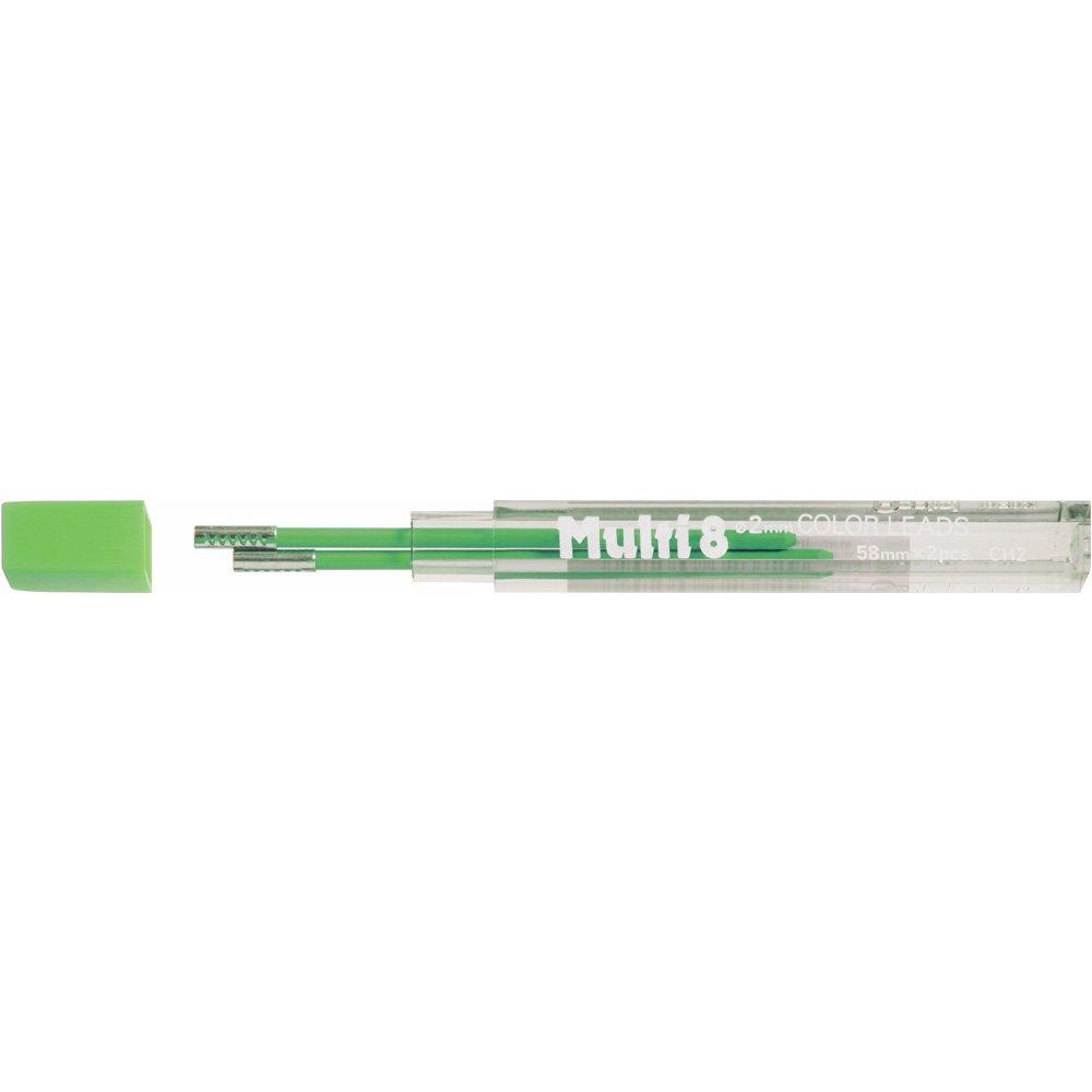 Pentel 2 Minas (1 Tubo) 2mm Verde Claro
