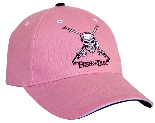 ピンクFish or die 。帽子   B01IWHXUJA
