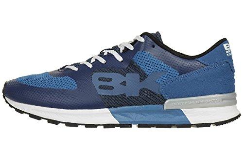 Britse Ridders Impact Bk Heren Sneaker Sneaker B37-3633-14 Bleu / Essence