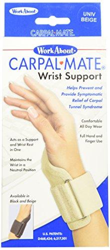 - FLA Orthopedics 22-140UNBEG Carpalmate Wrist Support Beige Universal