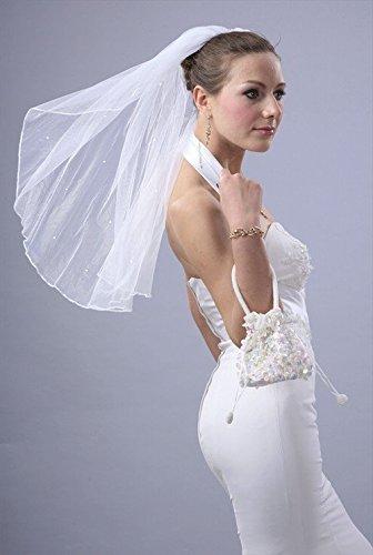 Bridal Diamond Shoulder Scattered Crystals product image