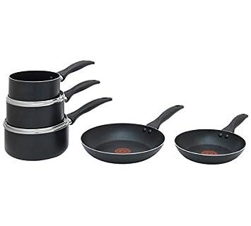 Tefal Easycare - Juego de sartenes antiadherentes (5 piezas): Amazon.es: Hogar