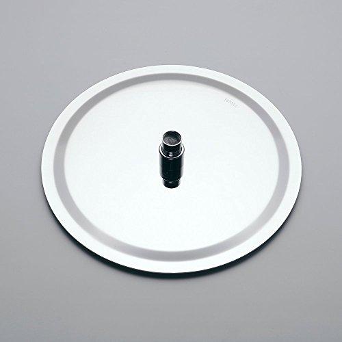 Hiendure 304-grade Stainless Steel 16-inch Solid Round Ultra Thin Rain Shower Head, Chrome by Hiendure (Image #2)